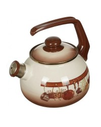 Сербский эмалированный чайник Metrot Кухня 2,5 л