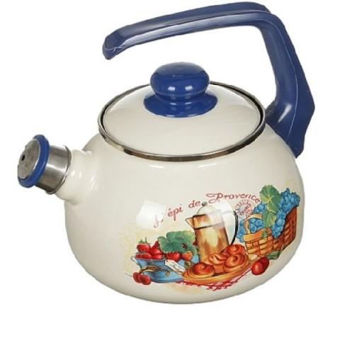 Сербский эмалированный чайник Metrot Прованс 2,5 л