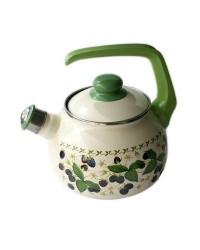 Сербский эмалированный чайник Metrot Ежевика 2,5 л