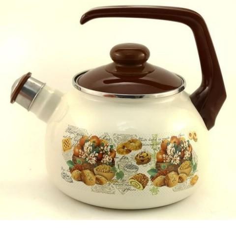 Сербский эмалированный чайник Metrot Сластена 2,5 л