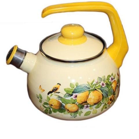 Сербский эмалированный чайник Metrot Айва 2,5 л