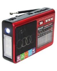 Портативные радиоприемники с хорошим приемом  с флешкой и фонариком